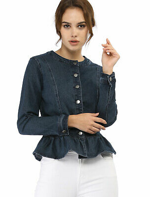 0e9e46526 HIGHWAY JEANS M Women's Junior White Cropped Jean Button Down ...