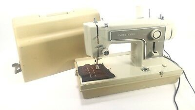 Sears Kenmore Portable All Metal Sewing Machine 5154 with Carrying Case