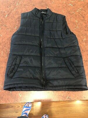 Boys/Youth/Kids SEED Black puffer vest Size 12