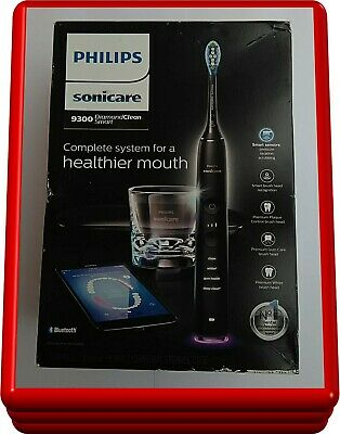 Philips Sonicare DiamondClean Smart 9300 Electric Toothbrush Black, HX9903/11