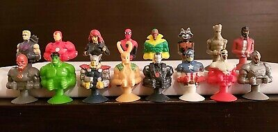 MARVEL Micro Popz Avengers Infinity War Complete Set 16 Kroger Exclusive As pic