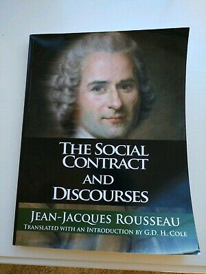 The Social Contract and Discourses by Jean-Jacques Rousseau (2007, Paperback)