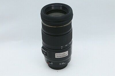 Canon EF 75-300MM IS 1:4-5.6 Ultrasonic Zoom Lens For Canon EF Mount DSLR Camera