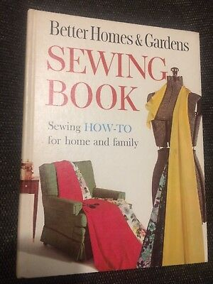 Better Homes and Gardens Sewing Book 1961 Hardcover Meredith Publishing