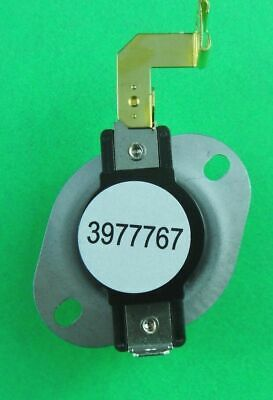 3977767 3399693 Hi Limit Thermostat Replaces Whirlpool Kenmore Roper Dryer