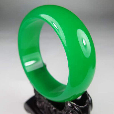 Exquisite Chinese hand-carved 100% natural jade bracelet 58mm