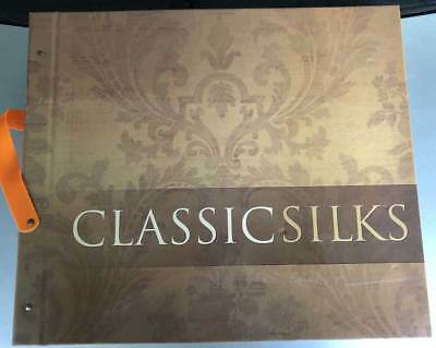 Classic Silks Wallpaper Sample Book Scrapbooking Paper Crafts Card Making