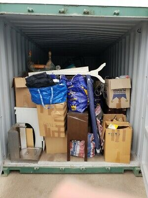 SELF STORAGE Container Auction - unclaimed / abandoned unit