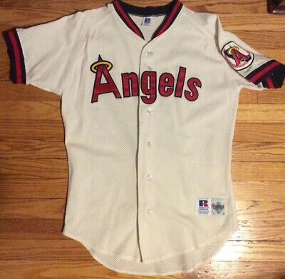 e8132ed1 California Los Angeles Angels Russell Athletic Collection Jersey Mens 40  Medium