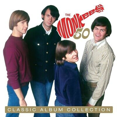 The Monkees - Classic Album Collection Multe-Colored  Boxset 10 Vinyl Lp Neuf