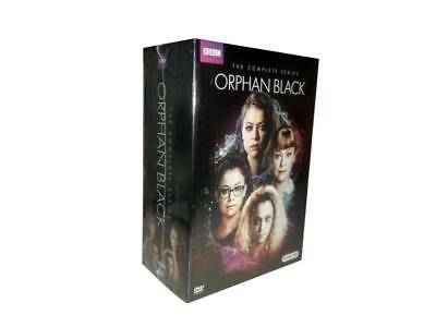 Orphan Black: The Complete Series Seasons 1-5 (DVD, 2017, 15-Disc Set) 1 2 3 4 5