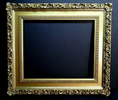 Stunning Large Antique Ornate Baroque Border Wide Cove Gilded Museum Frame 24 20