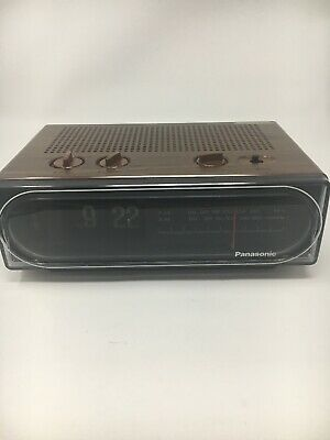 d3afccbdb2ef2 VINTAGE 1970 S PANASONIC Flip Clock Am Fm Radio Working -  150.00 ...