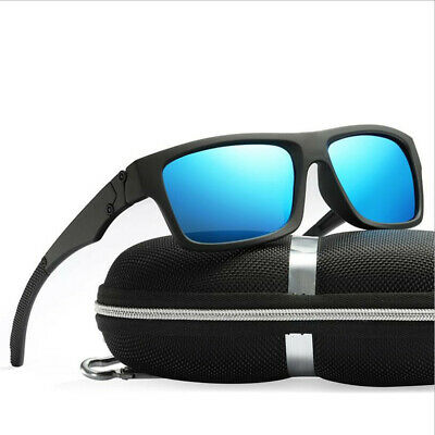 9e83b15d58a68 Polarized Men Sunglasses Outdoor Sports Square Eyewear Driving Glasses With  Case