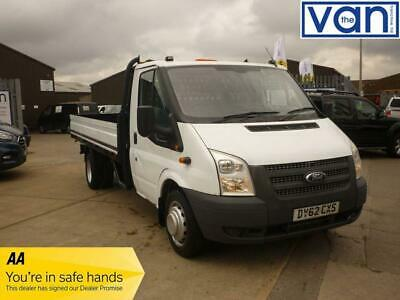 5aebc3948f 2012 62 Ford Transit 2.2 350 Extended Frame Dropside 125 Ps One Stop Body  Diese