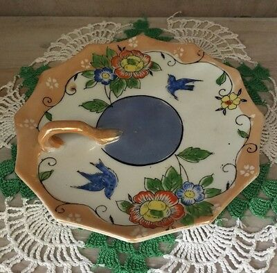 Vintage Vanity Tray With Luster Finish made in Japan
