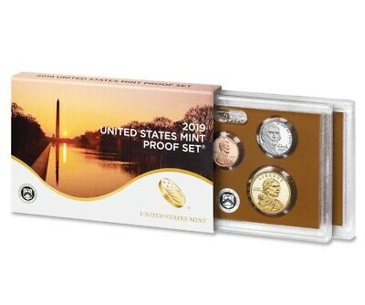 2019 US Mint Proof Set 10 Coin Clad No extra W Penny 100 Percent Feedback Dollar