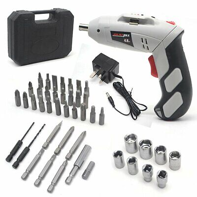 4.8V Lithium-Ion Electric Cordless Rechargeable Lightweight Screwdriver Drill