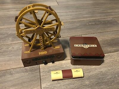 HBO Carnivale Promo Ferris Wheel, Tin and Pen/Calc Combo