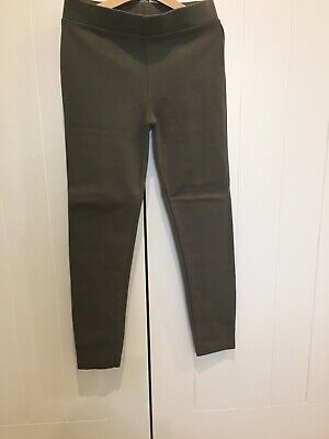Witchery Girls Olive Ponte Pant As New Size 10