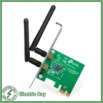 TP-Link TL-WN881ND WIRELESS N PCIE Network Adapter Card with Antenna 300Mbps NEW