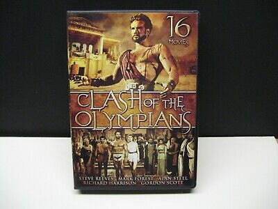DVD - Clash Of The Olympians