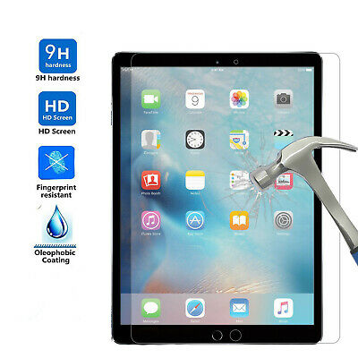 """For Apple iPad Pro 9.7"""" 2018 Tempered Glass Screen Protector Scratch-Resistant"""