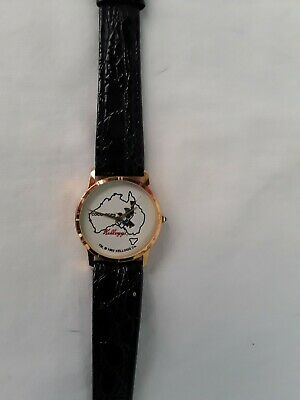 Vintage 1992 Kellogg's Coco Pops Wrist Watch ~ With Original Leather Band
