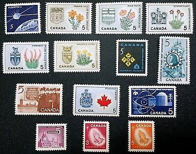 Canada Stamp - Complete Set of 1966 Issues
