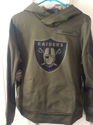 promo code 11a26 07017 NIKE OAKLAND RAIDERS Salute To Service Men's Therma Hoodie ...