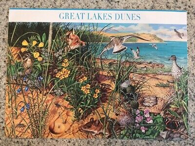 Postcard Unused Fdi-First Day Issue Great Lakes Dunes  2 Oct. 2008