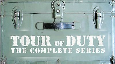 Tour of Duty - The Entire Series 3-Pack (DVD, 2005, 14-Disc Set) ACCEPTABLE