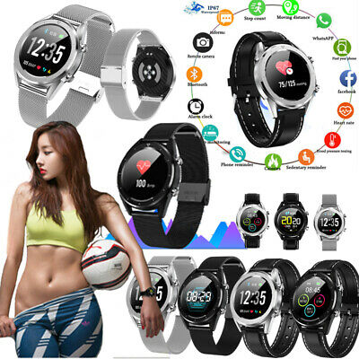 DT28 Bluetooth Smart Watch Heart Rate Monitor Tracker for iOS Android iPhone