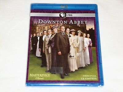 Masterpiece Downton Abbey Season 1,One(Blu-ray Disc,2011,2-Disc Set)New & Sealed