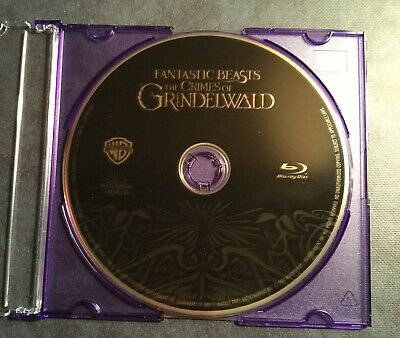 Fantastic Beasts: The Crimes of Grindelwald ( Blu-Ray 2019) DISC ONLY