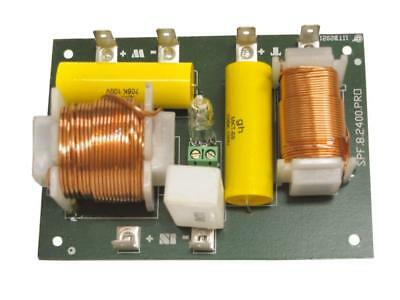 Audio Crossover Spf-8-2400 pro - 2-way Switch Filter 1 Pair