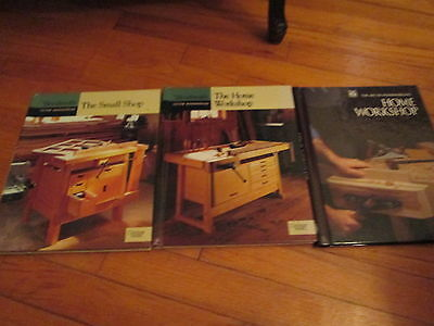Woodworking  Workshop Books / Set of Three