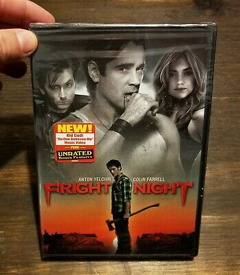 2011 Fright Night Anton Yelchin Colin Farrell Vampire New Factory Sealed DVD