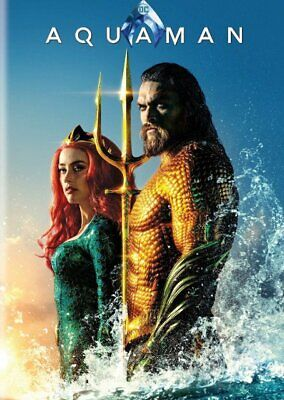 Aquaman (DVD) REGION 1 DVD (USA) IN STOCK READY TO POST BRAND NEW & SEALED
