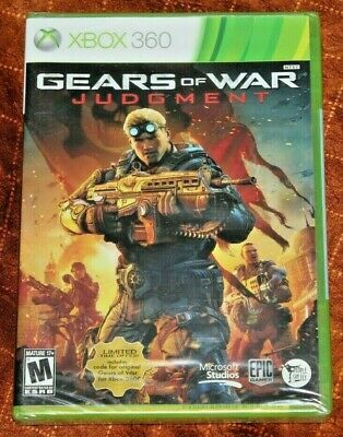 Brand New Factory Sealed GEARS OF WAR: JUDGMENT Microsoft Xbox 360 Video Game!