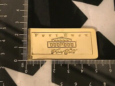 Money Clip Fort Knox Gold Brick Bar Replica Depository Challenge Coin Souvenir
