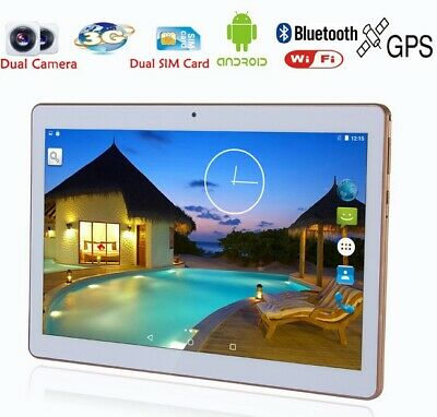 """2019 10.1"""" Android Tablet PC 4GB 64GB WIFI Phablet 13.0MP Camera 10.1 inch UK"""