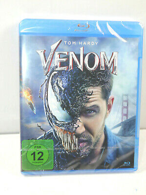 Marvel Venom (2018) Blu-Ray Tom Hardy Neuf (Wr8