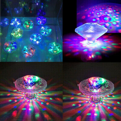 Bathroom LED Light Kids Color Changing Ball Toys Waterproof In Tub Bath Time Fun