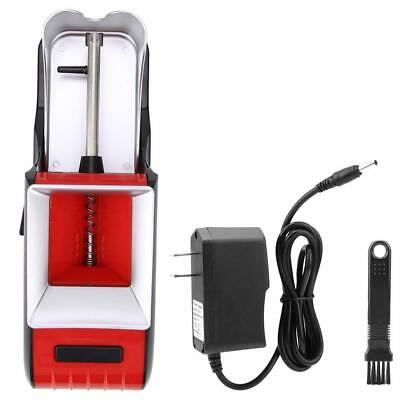 Red Electric Tobacco Cigarette Rolling Automatic Injector Maker Machine US Plug