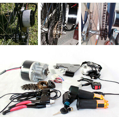 24V36V Economic Electric Bicycle Conversion Kit With High Light Led Lens