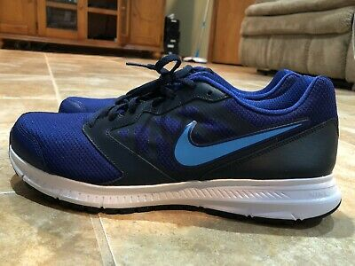 1ea966a91dfd6 New Nike Downshifter 6 Men s Running Shoes Deep Royal Blue 684652-417 Size  13