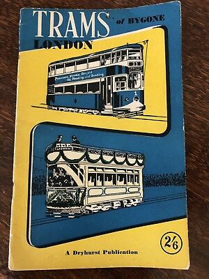 Trams Of Bygone London Book Guide - A Dryhurst Publication Railway