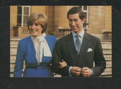 s50)   ROYALTY PC   THE MARRIAGE OF THE PRINCE OF WALES & LADY DIANA SPENCER