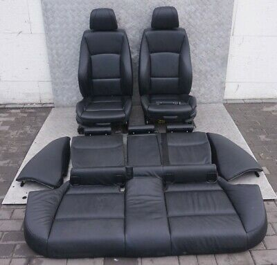 BMW 3 Series E91 M Sport Heated Black Leather Interior Seats Airbag Door Cards